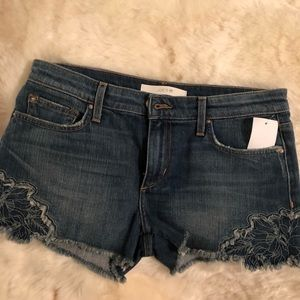 79dcc7e88d902 Joe s Jeans Shorts - Joe s cutoff shorts with embroidery😍 Thula ...